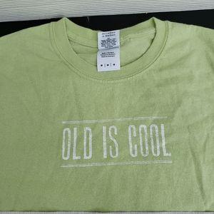 Old is Cool Greene Hall gildan M